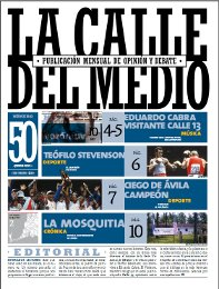 No.50 Revista La Calle del Medio